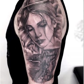 Portrait Tattoo in Perth
