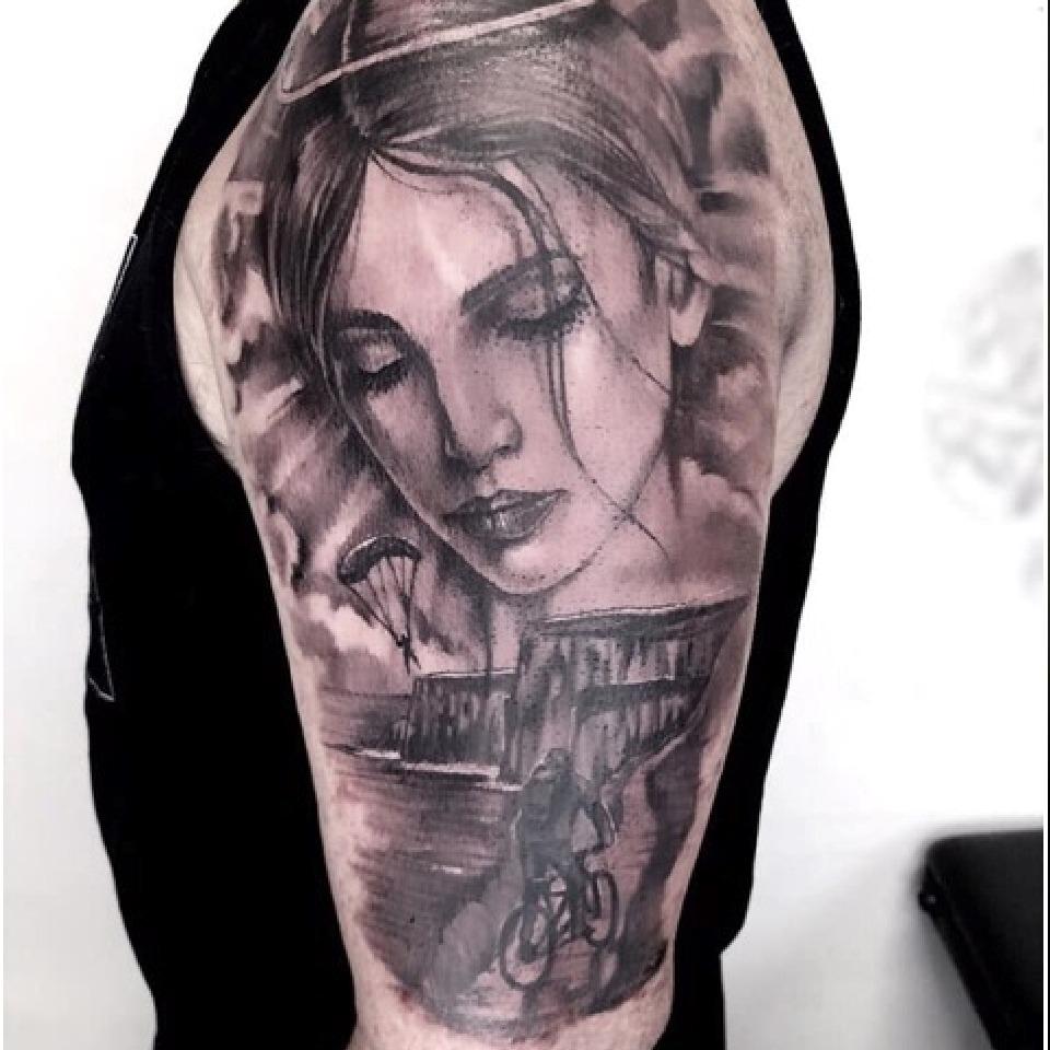 Portrait Tattoo in Perth