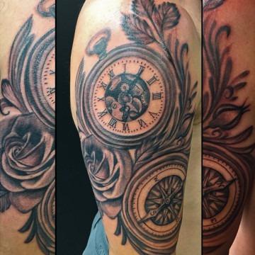 realism tattoo by Primitive tattoo artists