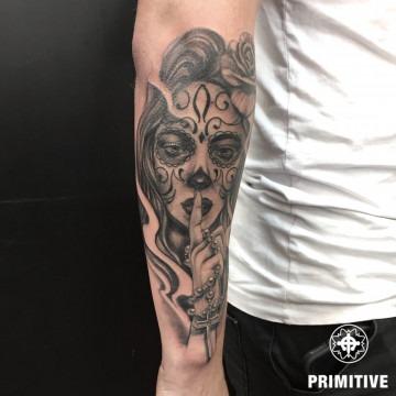 Best black and grey tattoo Perth