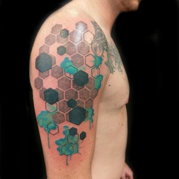 Geometric-water-color-tattoo-dotwork-linework-best-tattoo-perth-parlor-ink-primitive-
