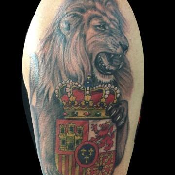lion-bobbi-primitive-tattoo-ink-perth-lion-realistic-360×360