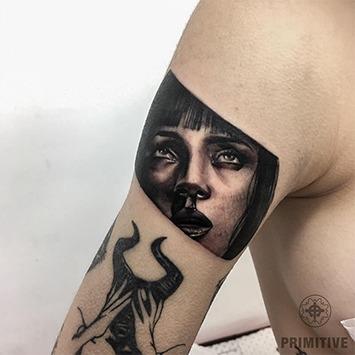 Realistic tattoos by Primitive tattoo Perth