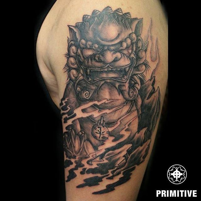 Japanese Oni Tattoo