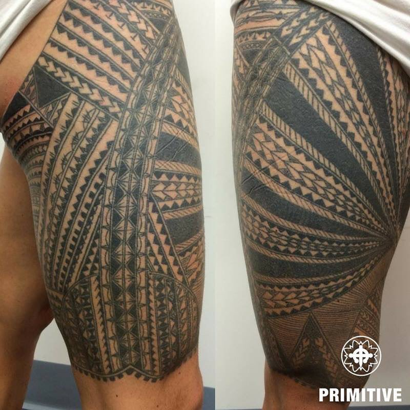Polynesian by Primitive tattoo