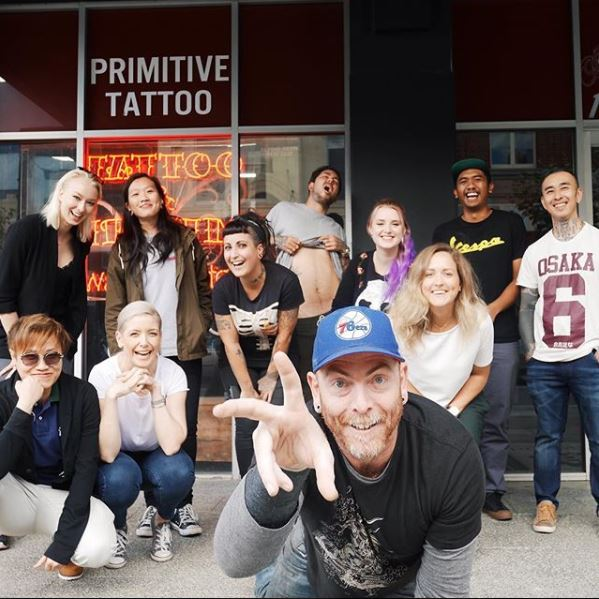Primitive tattoo team and shop