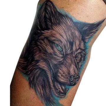 Damien primitive tattoo tribal best tattoo shop studio in perth realism portrait script www.primitivetattoo.com.au.JPG7