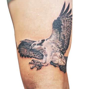 Erick primitive tattoo best tattoo shop studio in perth realism portrait script watercolour www.primitivetattoo.com.au414