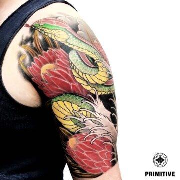 Marc Pinto Best Japanese Tattooo in perth Koi Dragoin getsha samurai tattoo. www.primitivetattoo.com.au214