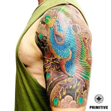 Marc Pinto Best Japanese Tattooo in perth Koi Dragoin getsha samurai tattoo. www.primitivetattoo.com.au215