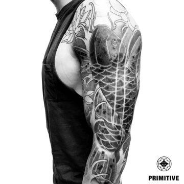 Marc Pinto Best Japanese Tattooo in perth Koi Dragoin getsha samurai tattoo. www.primitivetattoo.com.au217
