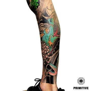 Marc Pinto Best Japanese Tattooo in perth Koi Dragoin getsha samurai tattoo. www.primitivetattoo.com.au225