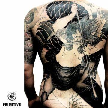 Marc Pinto Best Japanese Tattooo in perth Koi Dragoin getsha samurai tattoo. www.primitivetattoo.com.au231