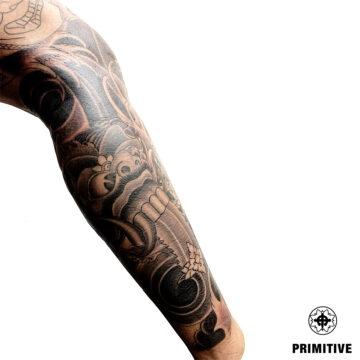 Marc Pinto Best Japanese Tattooo in perth Koi Dragoin getsha samurai tattoo. www.primitivetattoo.com.au235