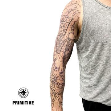Marc Pinto Best Japanese Tattooo in perth Koi Dragon geisha samurai tattoo. www.primitivetattoo.com.au272