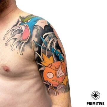 Marc Pinto Best Japanese Tattooo in perth Koi Dragon geisha samurai tattoo. www.primitivetattoo.com.au273