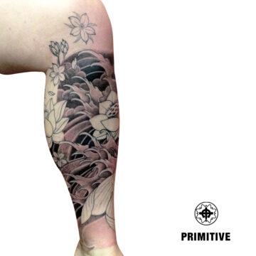 Marc Pinto Best Japanese Tattooo in perth Koi Dragon geisha samurai tattoo. www.primitivetattoo.com.au281