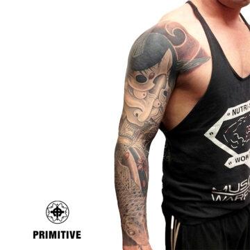 Marc Pinto Best Japanese Tattooo in perth Koi Dragon geisha samurai tattoo. www.primitivetattoo.com.au290