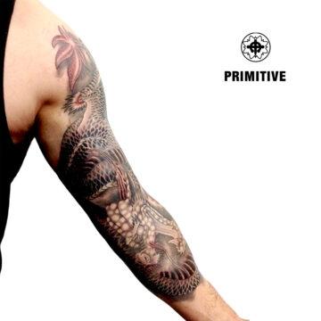 Marc Pinto Best Japanese Tattooo in perth Koi Dragon geisha samurai tattoo. www.primitivetattoo.com.au291