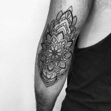 Petra Bio Image Mandala Geometry Primitive Tattoo