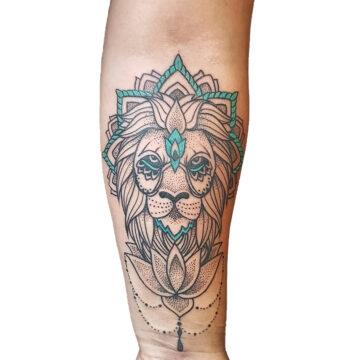Petra Mandala Geometry geometric tattoo floral sternum hand femals tattoo primitive tattoo tribal best tattoo shop studio in perth script www.primitivetattoo.com.au19