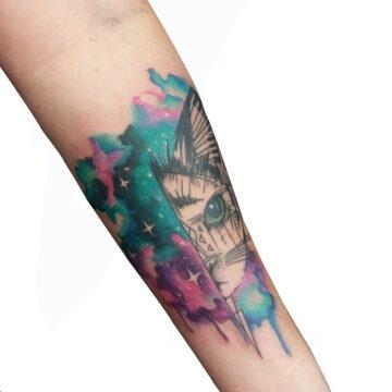 Petra Mandala Geometry geometric tattoo floral sternum hand femals tattoo primitive tattoo tribal best tattoo shop studio in perth script www.primitivetattoo.com.au2532