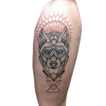 Petra Mandala Geometry geometric tattoo floral sternum hand femals tattoo primitive tattoo tribal best tattoo shop studio in perth script www.primitivetattoo.com.au8