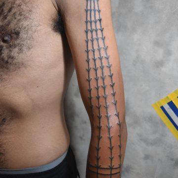 Sono primitive tattoo tribal best tattoo shop studio in perth 3